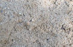 沙子肮脏的地面构造了背景 免版税图库摄影