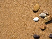 沙子背景 图库摄影