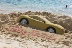 沙子艺术 免版税图库摄影