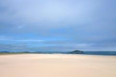 沙子风景 免版税库存照片