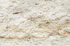 沙子黏土墙壁的纹理 免版税库存图片