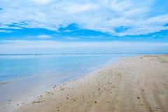 沙子,反射,液体,飞溅,海滩 免版税库存照片