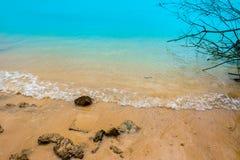 沙子,液体,海滩,夏天,海 免版税库存图片
