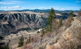 费沙尔峡谷 库存照片