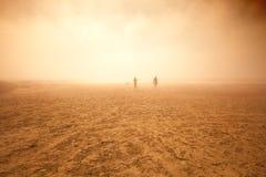 沙尘暴照片 免版税库存图片