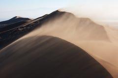沙尘暴 免版税库存图片