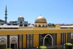 沙巴州立清真寺 免版税库存图片