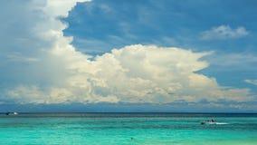 沙巴美人鱼海岛 库存图片