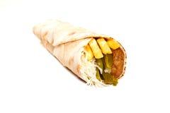 沙拉三明治 免版税库存照片