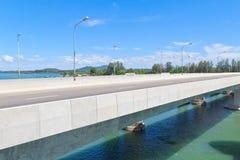 沙拉信桥梁 库存图片