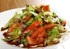沙拉用牛肉 免版税库存图片