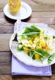沙拉用芹菜和果子 库存图片