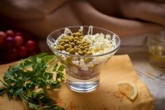 沙拉用绿豆 免版税图库摄影