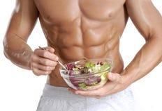沙拉肌肉。 免版税库存图片