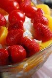 沙拉草莓 图库摄影