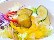 沙拉蔬菜 免版税库存照片