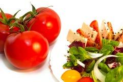 沙拉蔬菜 库存图片