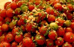 沙拉蕃茄 免版税库存照片