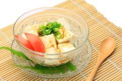 沙拉豆腐 库存图片