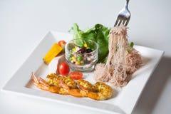 沙拉,健康食物 免版税库存照片