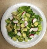 沙拉,新鲜和健康 库存照片