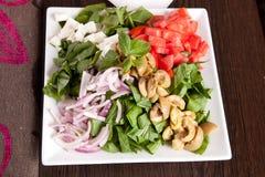 沙拉-开胃菜 免版税图库摄影