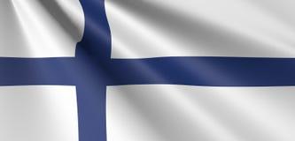 沙文主义情绪的芬兰 库存例证