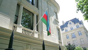 沙文主义情绪的阿塞拜疆 股票录像