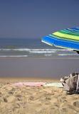 沙滩伞 免版税库存照片