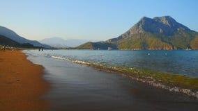 沙滩在土耳其 股票录像