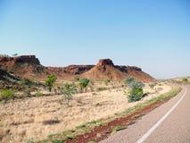 沙漠。澳大利亚。 库存图片
