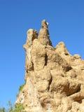 沙漠五岩石 库存照片