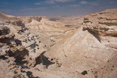 沙漠以色列横向negev 图库摄影