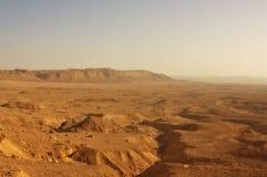沙漠以色列negev 库存图片