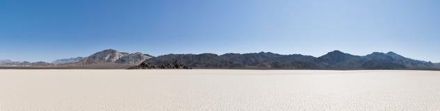 沙漠全景 免版税库存照片