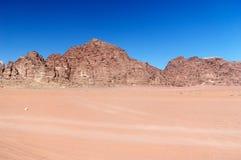 沙漠兰姆酒旱谷 库存图片