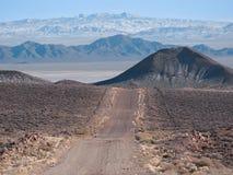 沙漠内华达北路 免版税库存图片