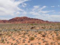 沙漠内华达 图库摄影