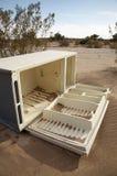 沙漠冰箱 免版税库存照片
