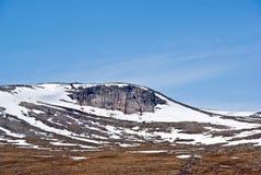 沙漠北部挪威 免版税库存图片