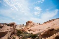 沙漠土地 免版税图库摄影