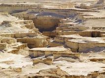 沙漠在以色列 免版税图库摄影