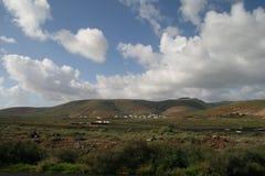 沙漠在春天 免版税库存照片