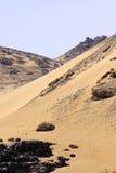 沙漠在非洲 免版税库存图片