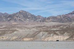 沙漠在死亡谷 免版税图库摄影