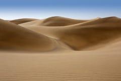 沙漠在Maspalomas Gran Canaria的沙丘沙子 库存照片
