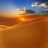 沙漠在Maspalomas Gran Canaria的沙丘 库存图片