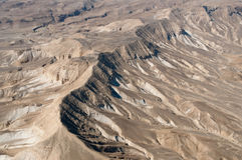 沙漠地形 免版税图库摄影