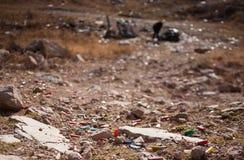 沙漠垃圾 库存图片