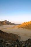 沙漠埃及岩石 库存照片